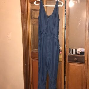 Blue denim Dynamite jumpsuit